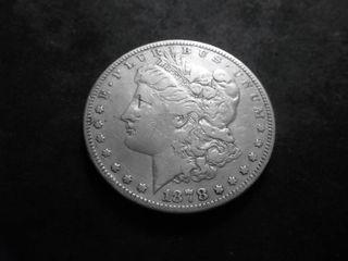 1878 Morgan Silver Dollar Reverse 1879