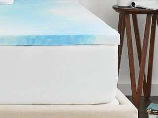 2  SealyChill Gel Memory Foam Mattress Topper with Cover  Retail 149 97