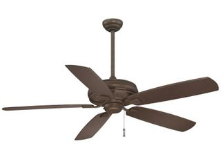 Sunseeker Ceiling Fan In Oil Rubbed Bronze Finish W Oil Rubbed Bronze Blades  Retail 259 95
