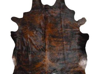 Carbon loft Gyasi Cowhide Rug  Retail 267 99