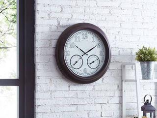 FirsTime   Co luminous led Outdoor Clock