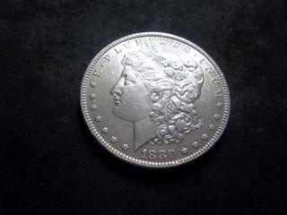 1880 O Morgan Silver Dollar Micro O