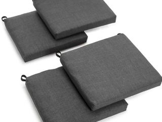 Blazing Needles 20 inch Indoor Outdoor Chair Cushion  Set of 4  Retail 86 49
