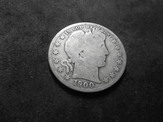 1900 S Barber Half Dollar