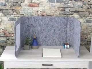 Cove Desk or Table Top Divider  Sound Absorbing Tackable for Counters  Desks  Work Spaces  Barrier Against Coughing   Sneezing  Retail 195 49