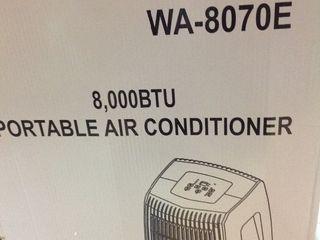 8 000 BTU Portable Air Conditioner with Dehumidifier in good condition
