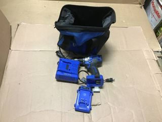 Kobalt 24 Volt Max 1 2 in Brushless Cordless Drill  Charger Included and 1 Battery Included in good condition