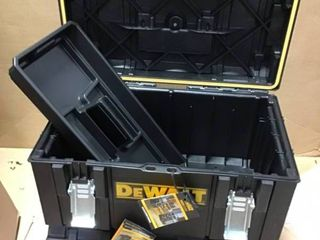 ToughSystem DS130 22 in  Tool Box by DEWAlT in good condition