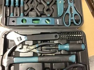Home Tool Kit  76 Piece  by ANVIl in good condition