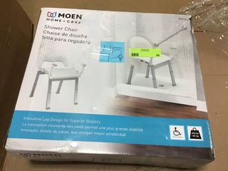 Moen Home Care Glacier Shower Chair in good condition