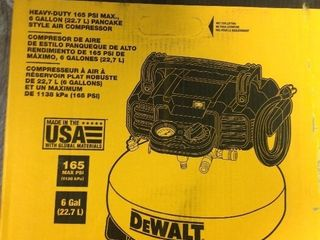 6 Gal  165 PSI Electric Pancake Air Compressor in good condition