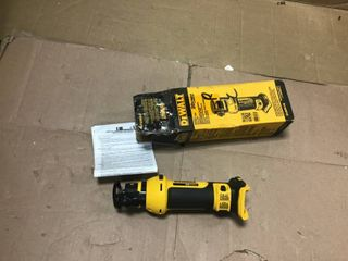 20 Volt MAX lithium Ion Cordless Drywall Cut Out Tool  Tool Only  by DEWAlT in good condition