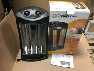 1500 Watt Electric Quartz Infrared Radiant Tower Heater by Comfort Zone in good condition