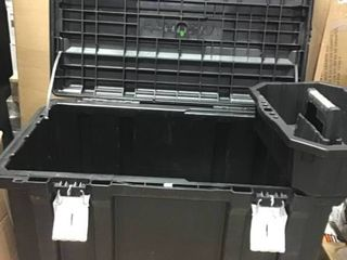 37 in  Rolling Tool Box Utility Cart Black by Husky in good condition