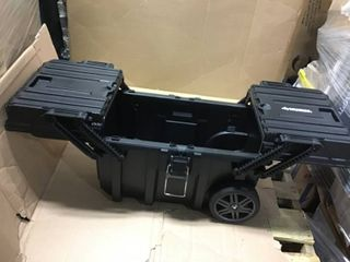 25 in  Cantilever Rolling Tool Box by Husky in good condition