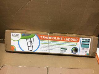 Pure Fun Trampoline ladder  Black  in good condition