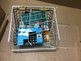 ClosetMaid 1088 Stack or Mount Storage Basket in good condition