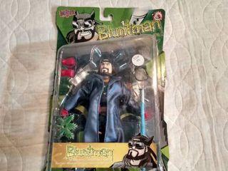 big blast bluntman action figure in original case