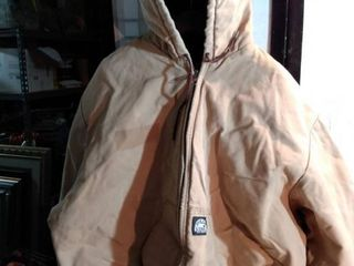 4Xl hooded polar King insulated coat by key