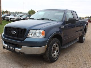 2005 Ford F150 FX4 Extended Cab 4x4