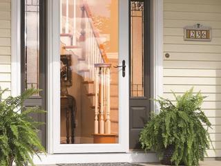 lARSON Signature Classic 36 in x 81 in White Full View Aluminum Storm Door Item  758239Model  14904032