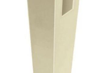 SET OF 3  84 inBarrette Keswick Straight Sand Vinyl Fence line Post