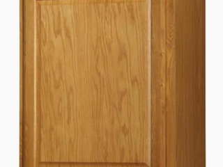 Kitchen Classics Portland 30 in x 24 in x 12 in Oak Portland Single Door Kitchen Wall Cabinet
