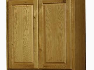 Kitchen Classics Portland 30 in x 30 in x 12 in Oak Portland Double Door Kitchen Wall Cabinet