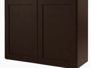 Kitchen Classics 30 in W x 24 in H x 12 in D Finished Brookton Birch Double Door Kitchen Wall Cabinet
