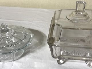Covered Candy Dish