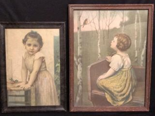 2  Antique Prints
