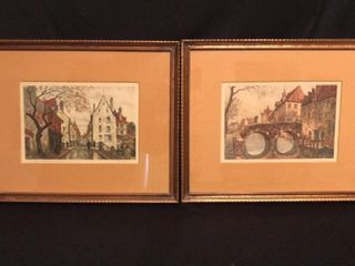 Pair of Antique Prints