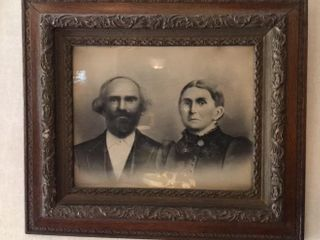 Antique Framed Photo