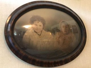 Oval Framed Antique Photo