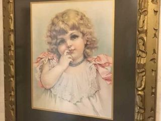 Framed Print of Girl