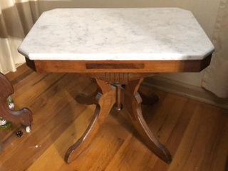 Eastlake Marble Top Table