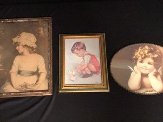 3  Antique Prints