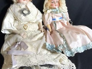 2  Antique Dolls