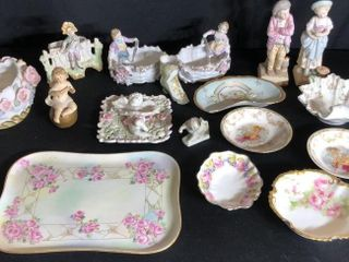 Porcelain Plates and Cherubs