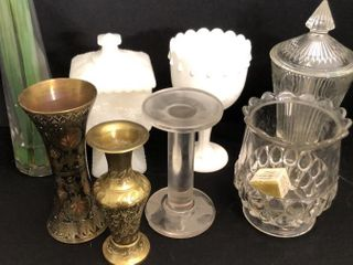 Glassware  Goblets and Vases