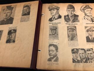 World War II Scrapbook