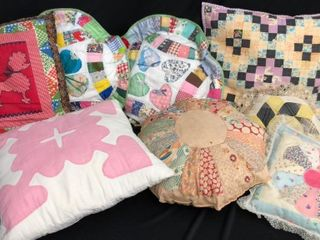 6  Quilted Pillows