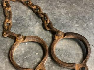 Primitive leg Irons