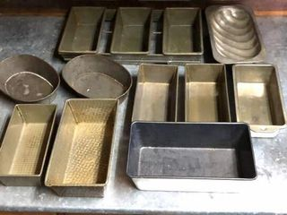 12  Baking Pans and Moulds