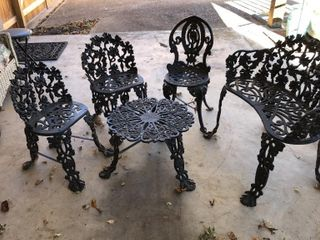 5  Wrought Iron Patio Furniture