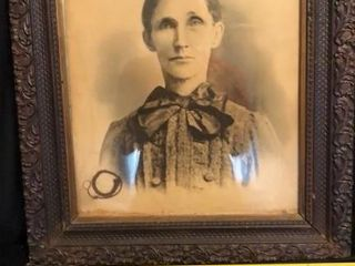 Antique Photograph of Woman