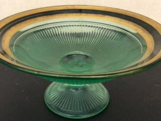 Depression Era Pedestal Centerpiece Bowl