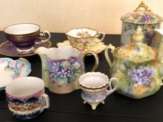 Hand Painted Bavaria  limoges  Germany