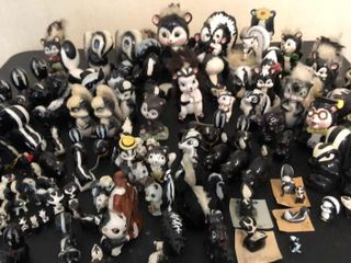 large Collection of Skunks
