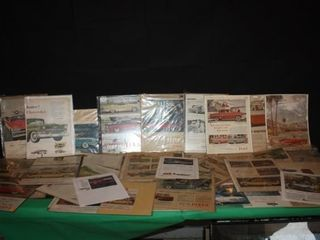 large lot Of Vintage Cars Advertisement Articles